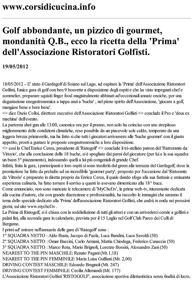 Stampa - www.corsidicucina.info