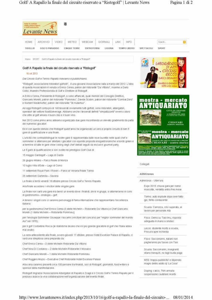 2013.10.16 www.levantenews.it