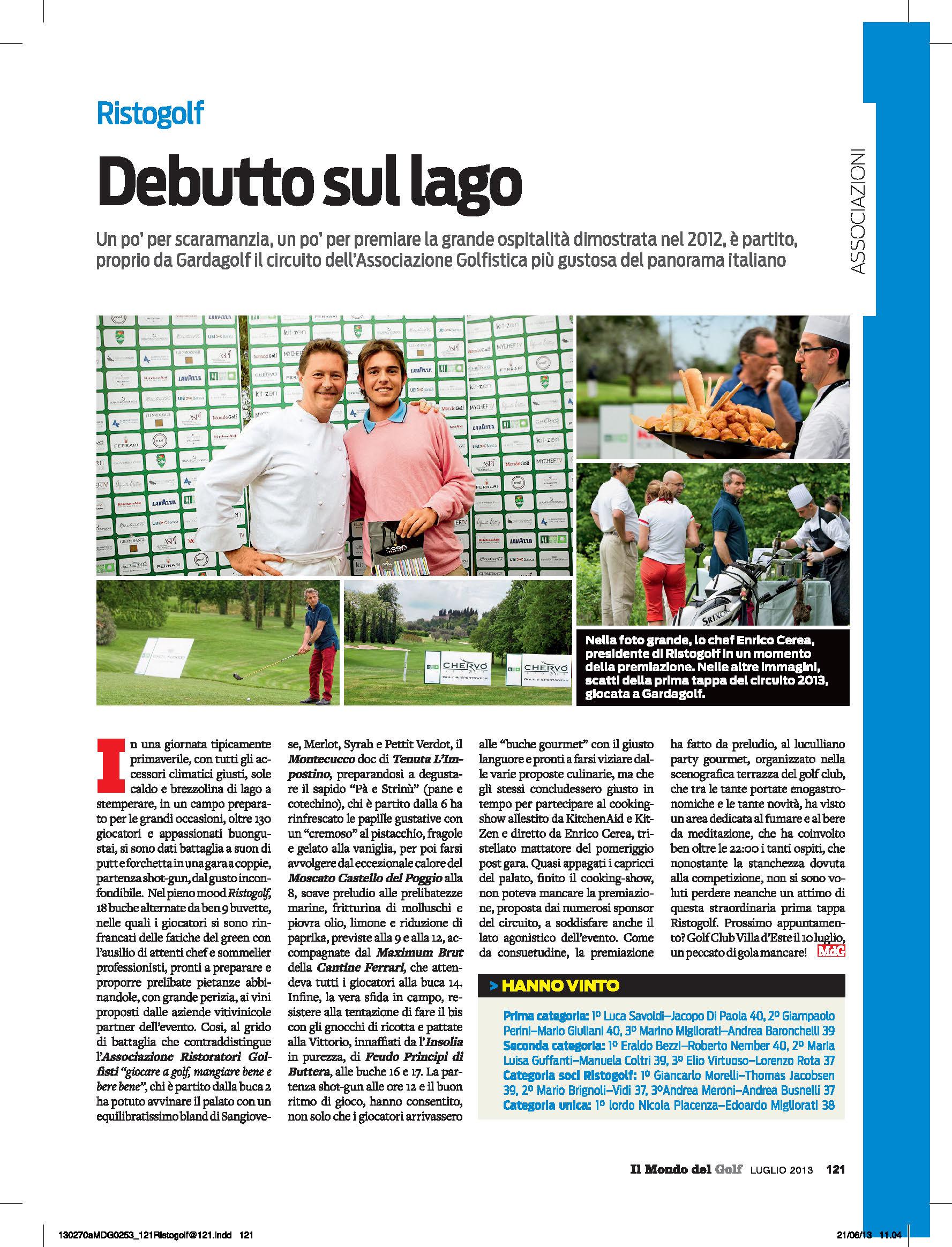 Il Mondo del Golf - Luglio 2013