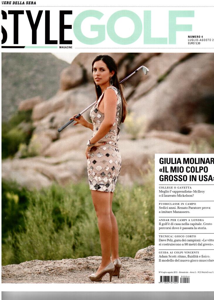 Style Golf -  Luglio 2013 (copertina)