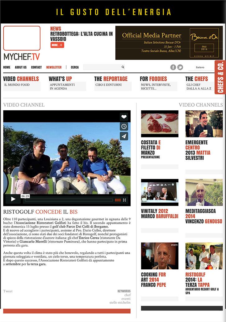 Ristogolf concede il bis - MyChef.tv