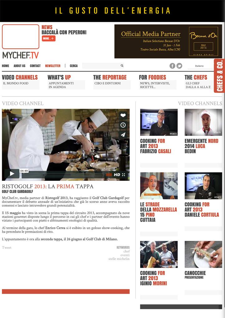 Ristogolf 2013: la prima tappa - MyChef.tv