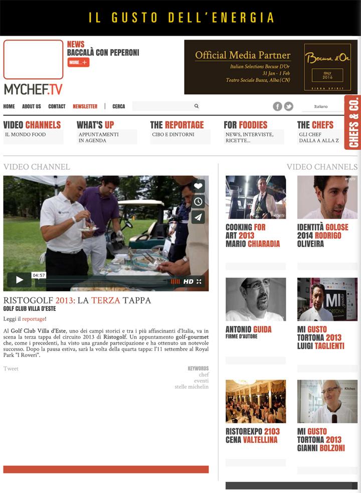 Ristogolf 2013: la terza tappa - MyChef.tv