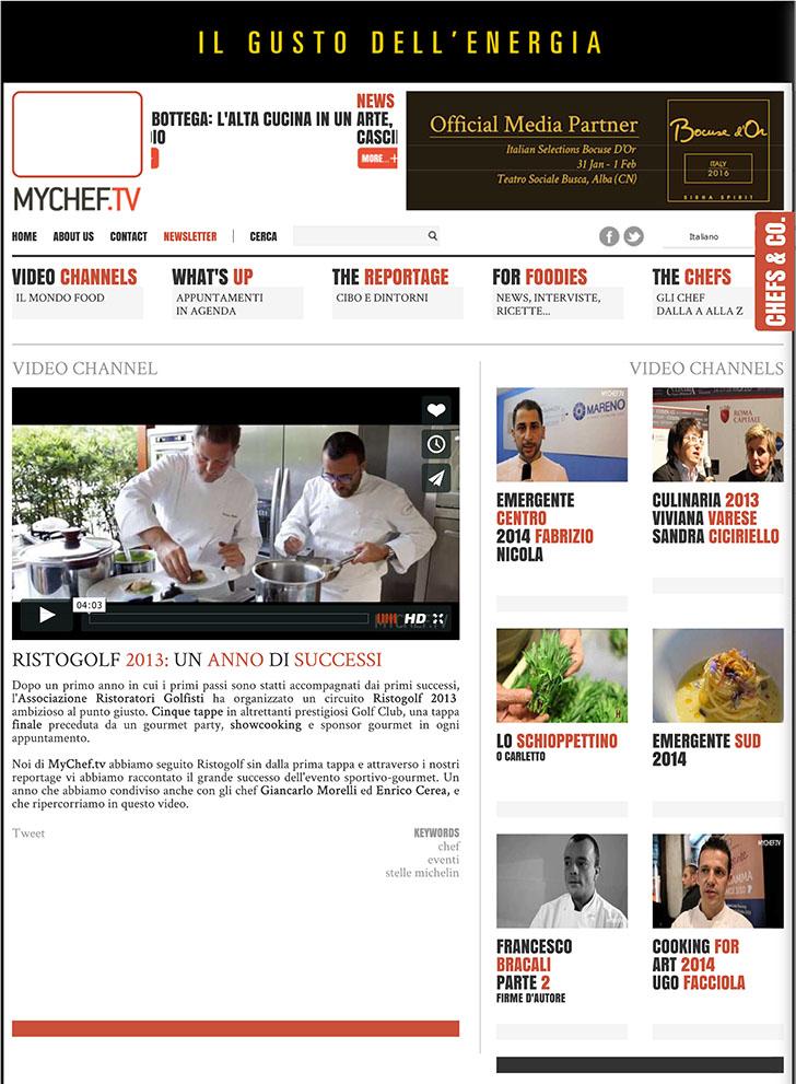 Ristogolf 2013: un anno di successi - MyChef.tv