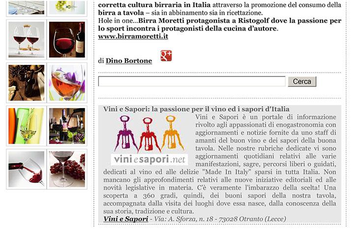 Sport e cucina d'autore: la gamma Birra Moretti protagonista a R