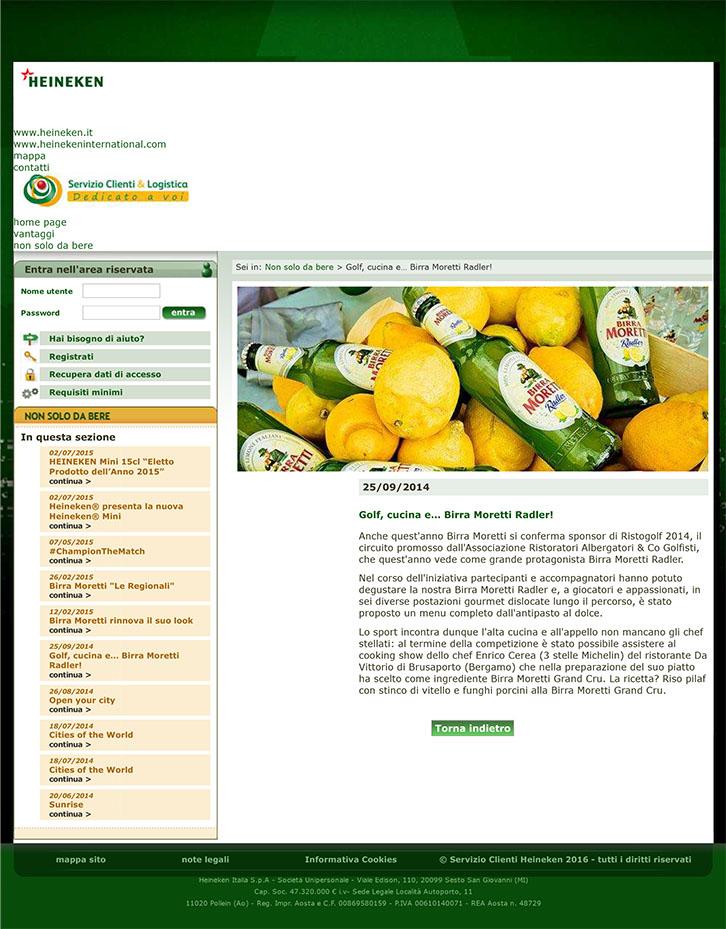Servizio Clienti Heineken