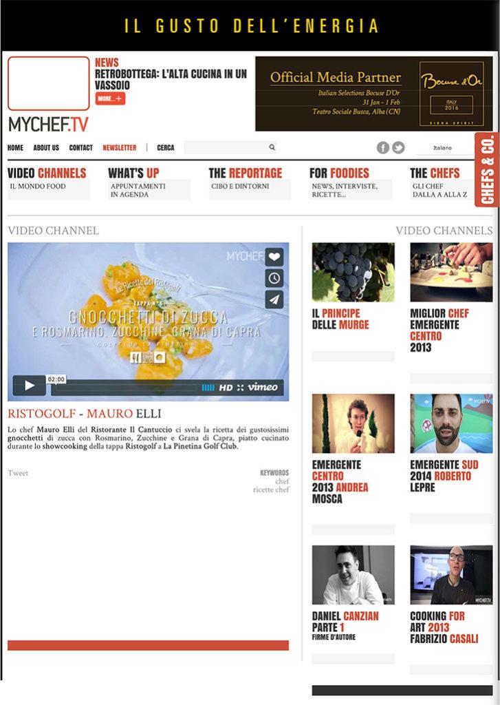 Ristogolf - Mauro Elli - MyChef.tv