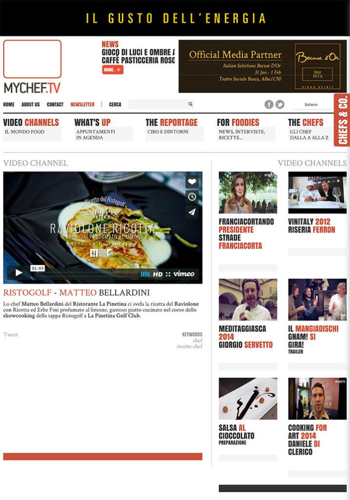 Ristogolf - Matteo Bellardini - MyChef.tv