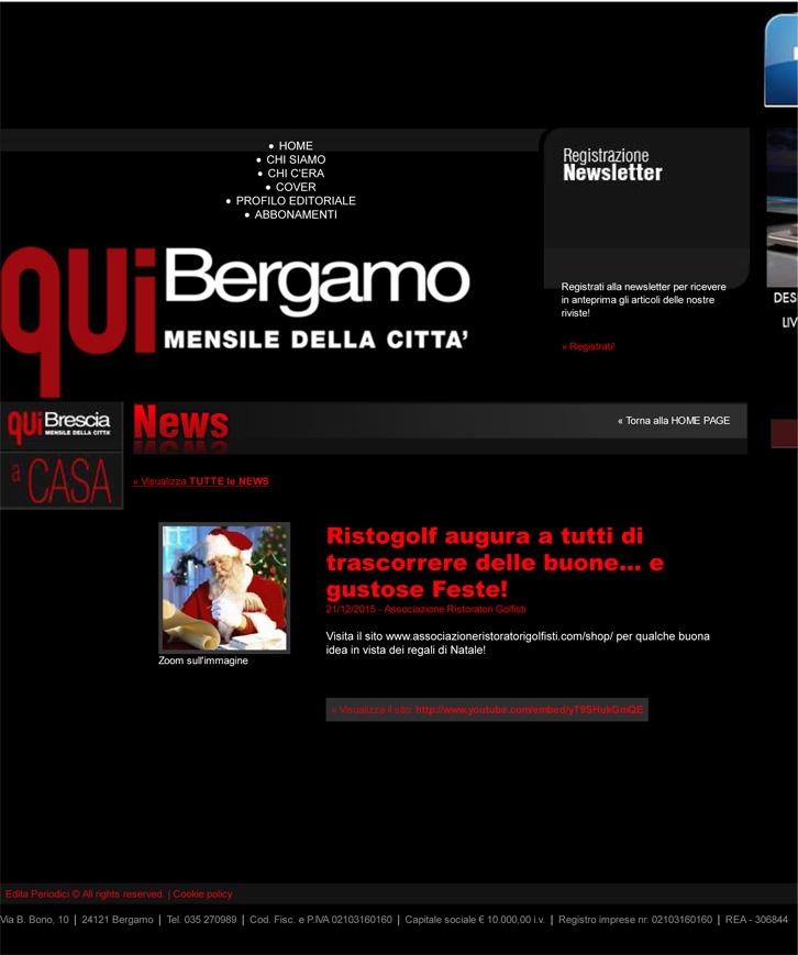 Edita Periodici - casa editrice di QUI Bergamo, QUI Brescia, A C