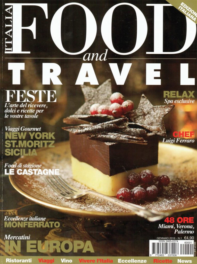 2016.01 Food and travel Italia