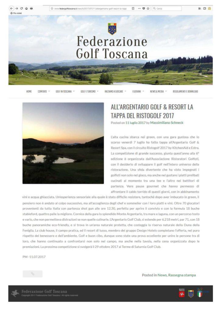 2017.07.11 Federazione Golf Toscana