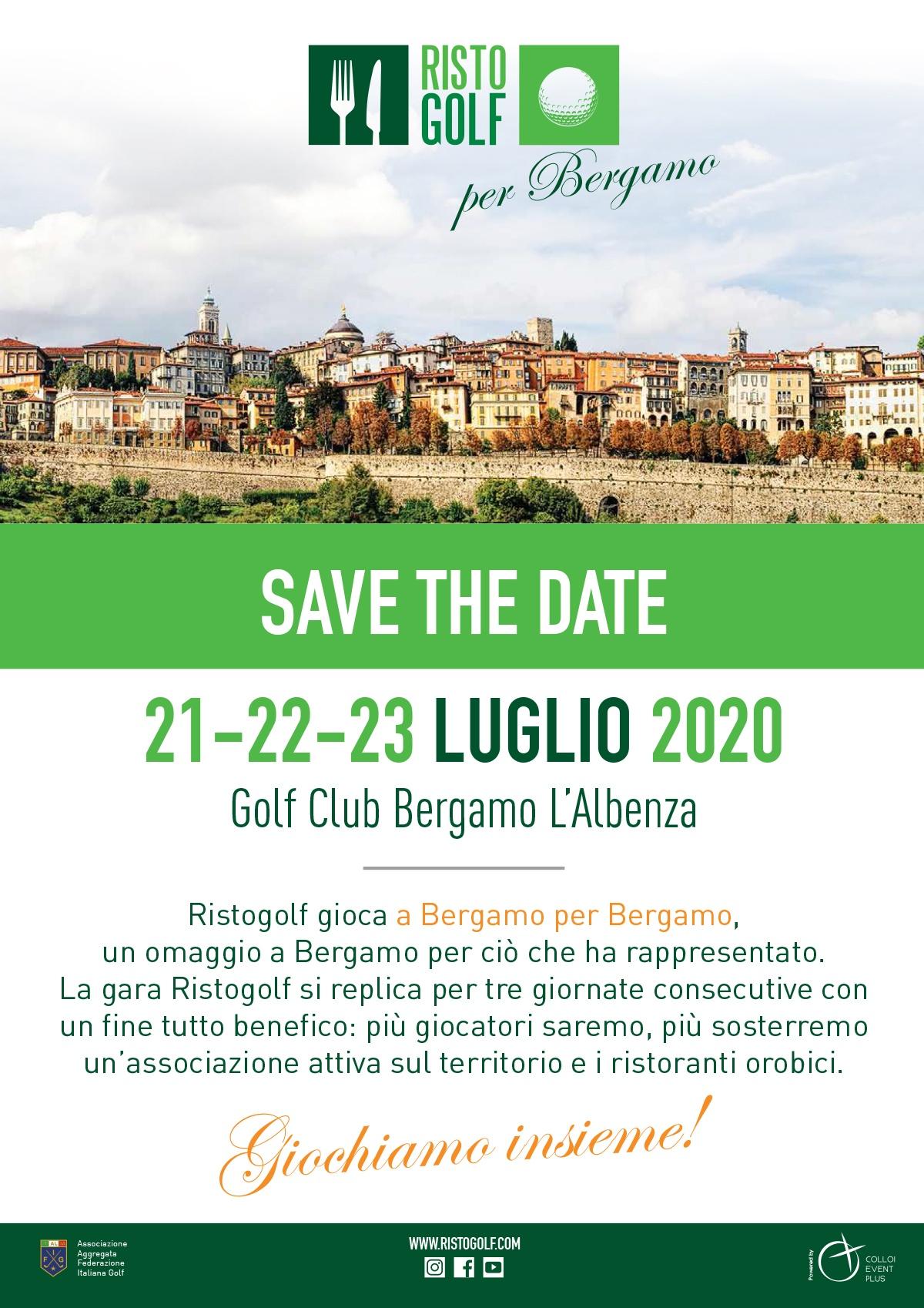 Ristogolf per Bergamo